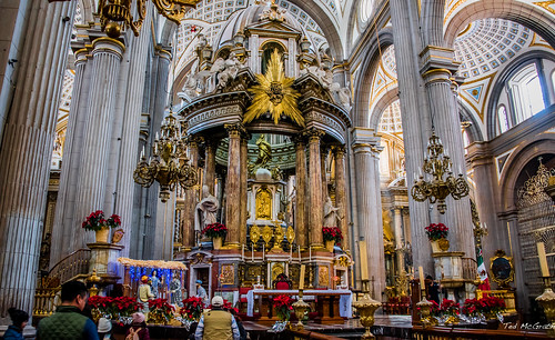 2018 - Mexico - Puebla - Cathedral - 1 of 6
