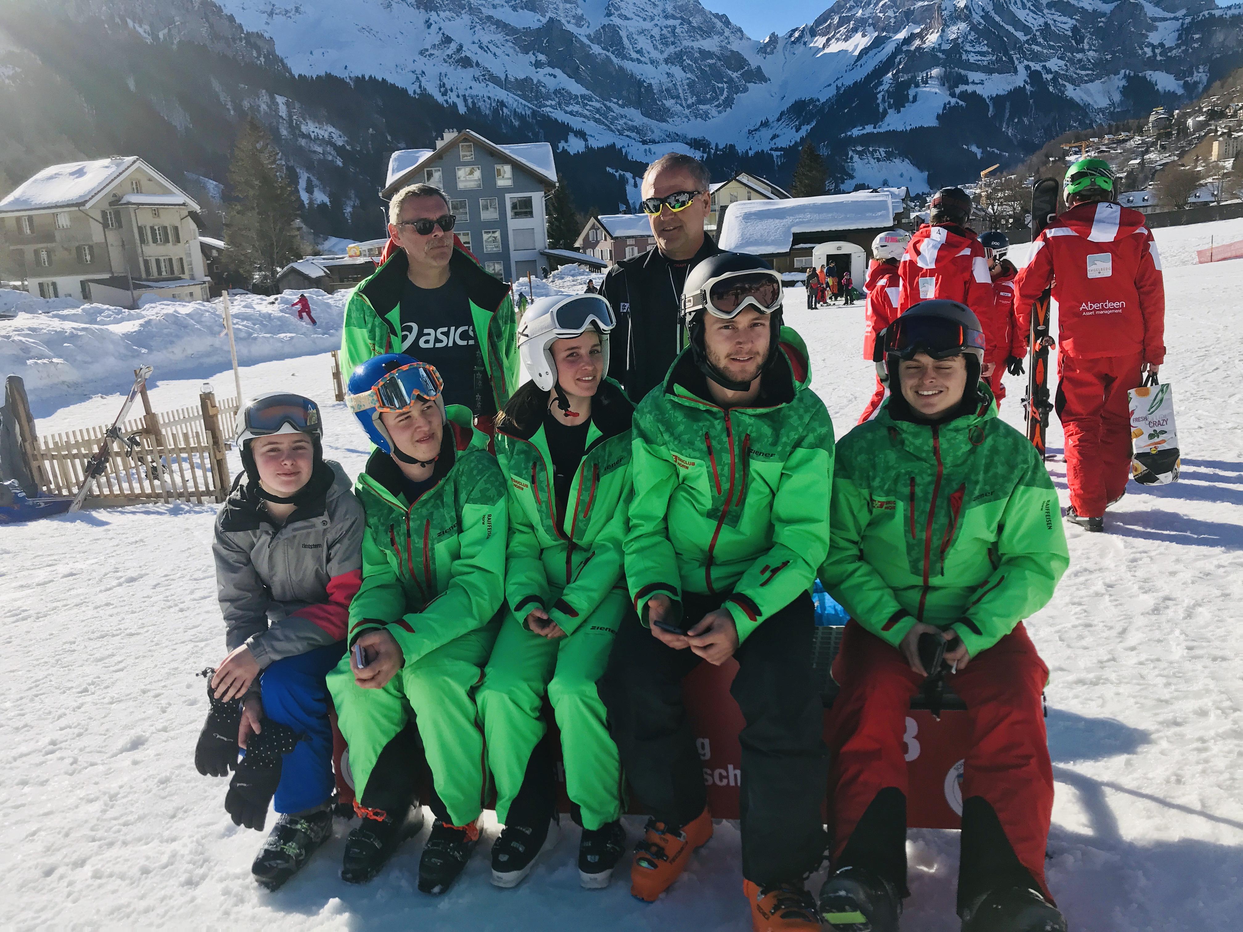 2019.02.17 - 5. Schneehasentag mit Rennen - Engelberg/Brunni