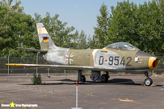D-9542---1740---German-Air-Force---Canadair-CL-13B-Sabre-6-F-86---Gatow-Berlin---180530---Steven-Gray---IMG_8508-watermarked