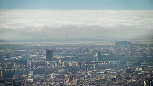 Niebla de advección. 17/03/2019   by AlfonsPC - Observatori Fabra