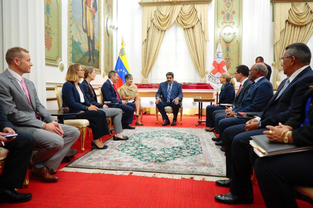 Gobierno Bolivariano alcanza acuerdos productivos con el Comité Internacional de la Cruz Roja