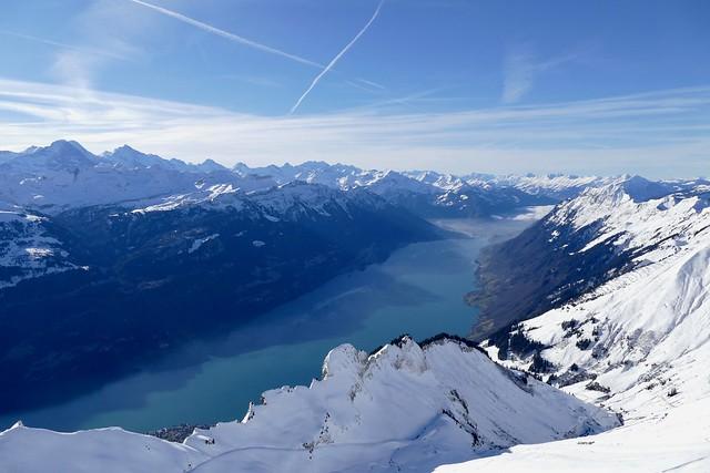 Eiger Mönch Jungfrau Brienzersee Bernese Oberland Switzerland
