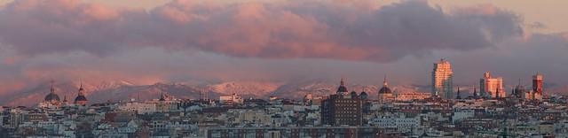Panoramica Sur Oeste de Madrid
