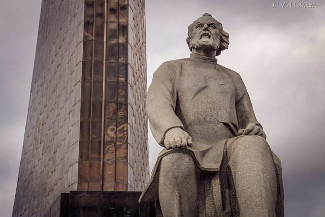 Monument to the Conquerors of Space/Монуме́нт Покори́телям кoсмоса, Moscow, Russia