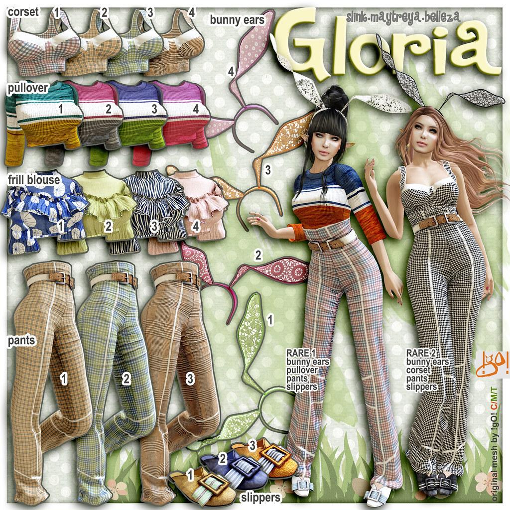 !gO! Gloria – Gacha key
