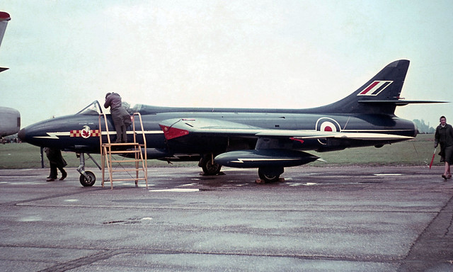 XG225. Royal Air Force Hawker Hunter F.6