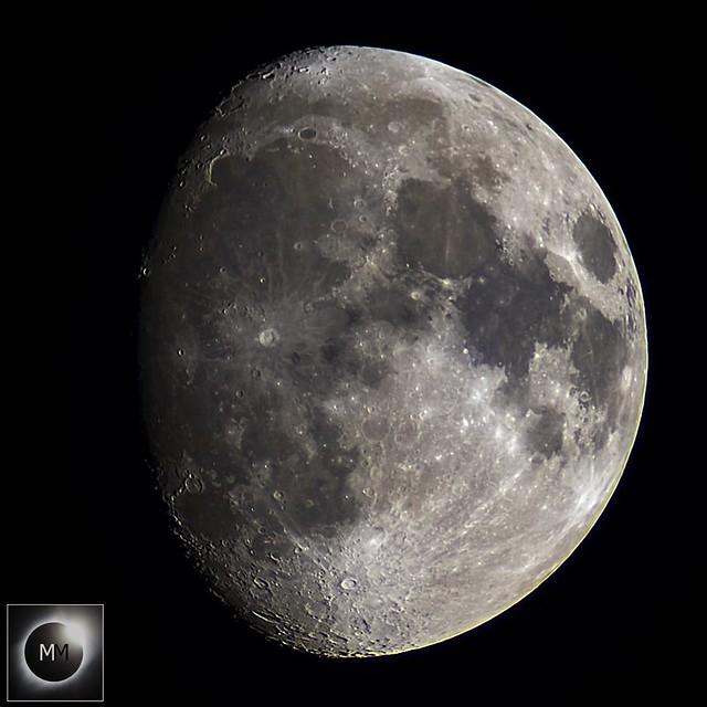 84% Waxing Gibbous Moon 17/01/19