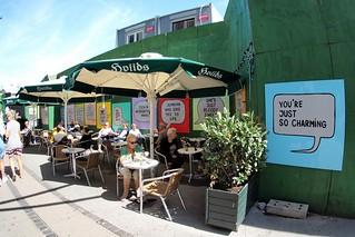 Terrace in Copenhagen, Denmark