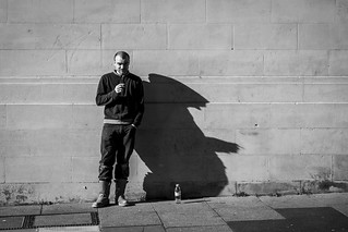 Smoking Man's Shadow | by Leanne Boulton