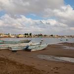 IOM Djibouti - Obock, beach and fishing boat