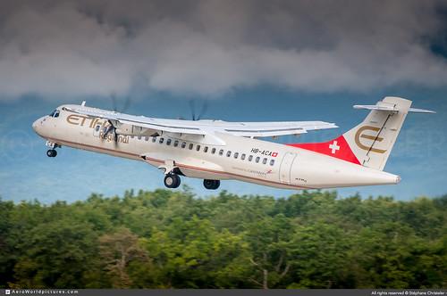 [GVA.2014] #Etihad.regional #Darwin.Airline #F7 #ATR #ATR72 #HB-ACA #awp