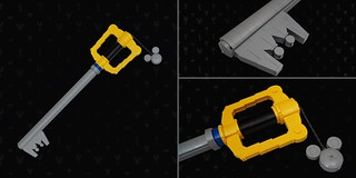 Life-size LEGO Keyblade | by BrickinNick