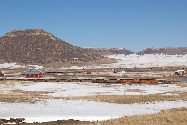 BNSF 8459 Greenland 10 Feb 19