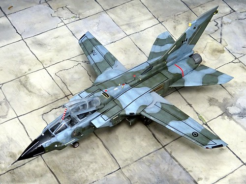"1:72 EADS (Panavia) CA-182A ""Tornado""; aircraft ""(182)715"" of the Canadian Air Force 433 (Porcupine) Fighter Bomber Squadron; 3 Wing, CFB Bagotville (Quebec/Canada), 2004 (Whif/Revell kit) 