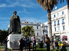 Tunis, socha Ibn Chaldúna, foto: Petr Nejedlý