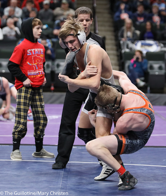 126AA 3rd Place Match - Justin Stauffacher (Scott West) 46-6 won in tie breaker - 1 over Kyle Boeke (Princeton) 44-5 (TB-1 2-1). 190302BMC3688