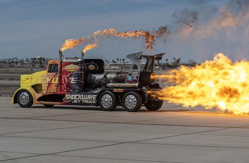Shockwave Spews Fire