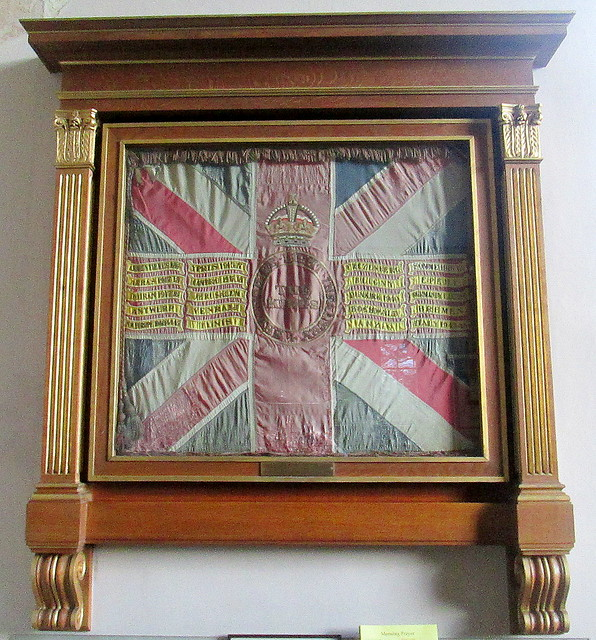 KSLI Battle Honours, St Chad's, Shrewsbury