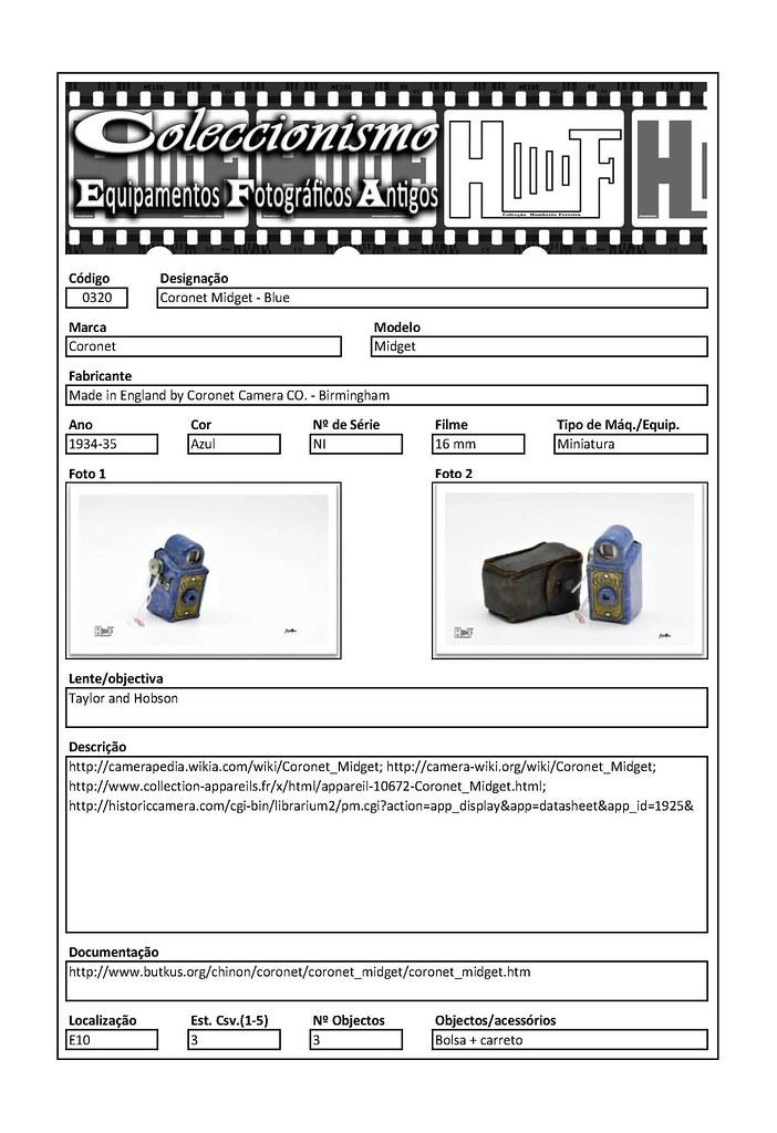 Inventariação da colecção_0320  Coronet Midget - Blue