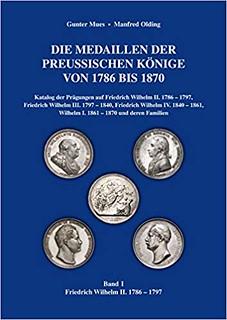 Die Medaillen der preußischen Könige book cover   by Numismatic Bibliomania Society