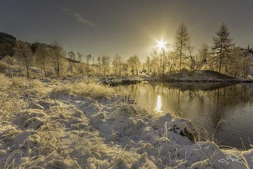 frozen Trossachs | by Mike Clark 100