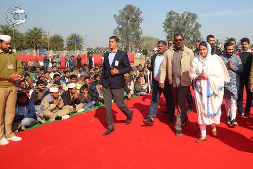 Arrival of Satguru Mata Ji in Satsang Venue