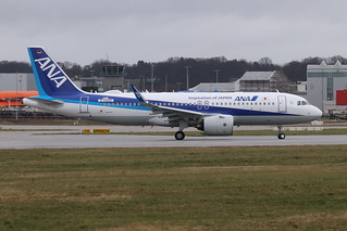 A320neo All Nippon Airways JA218A | by XFW-Spotter