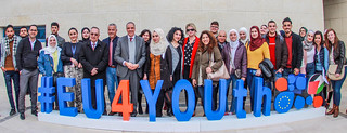 "Palestine - Nablus: #EU4YOUth Campus Tour - ""Europe in their Eyes"" - Palestine - Naplouse : #EU4YOUth Campus Tour - « L'Europe dans leurs yeux » - فلسطين -نابلس: جولة في الحرم الجامعي #EU4YOUth – "" أوروبا في عيونهم"""