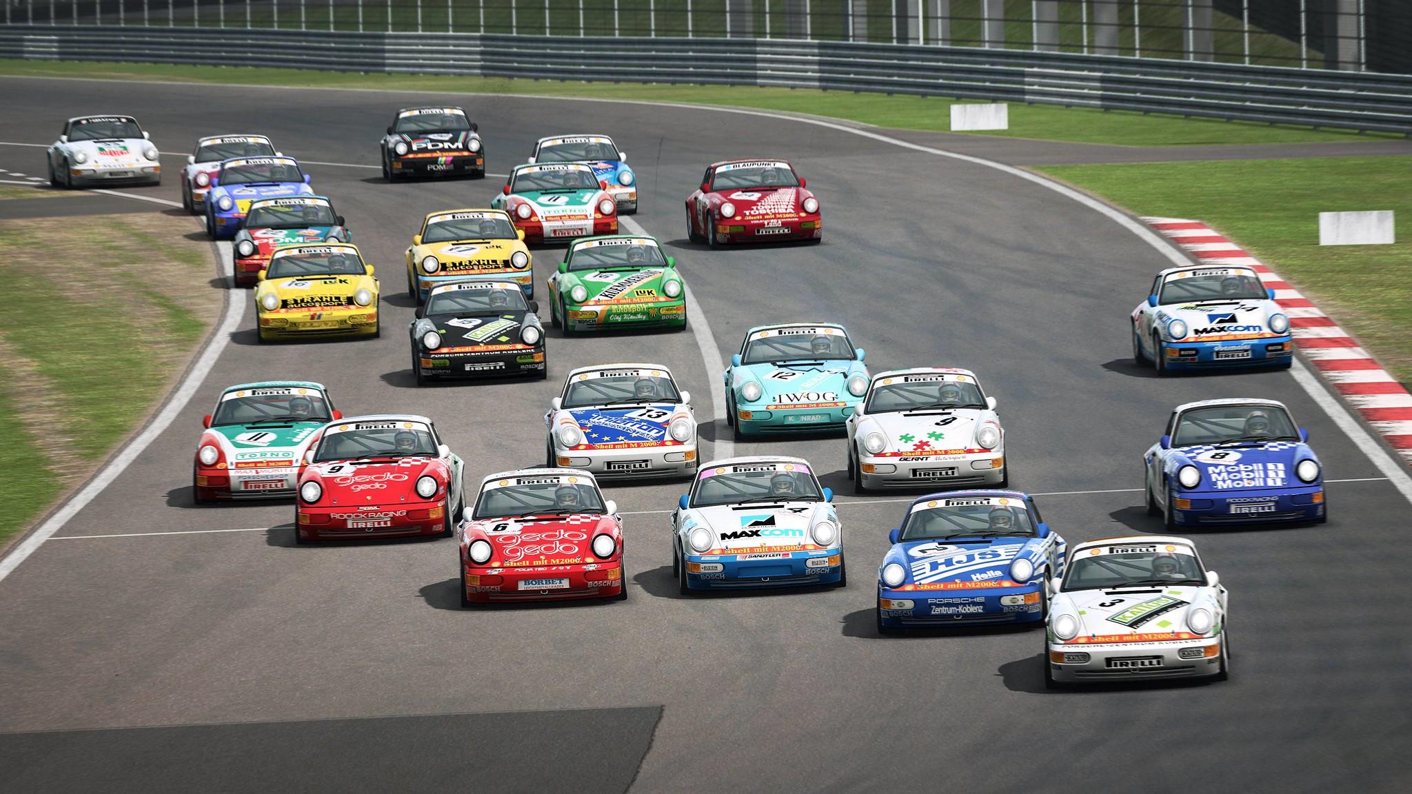 RaceRoom Porsche 911 Carrera Cup 5