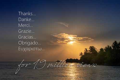 19million 19millionen aufrufe views danke thanks merci grazie gracias obrigado sonnenuntergang sunset wolken clouds sonne sun evening abend bandos nordmaléatoll northmaleatoll kaafu atoll insel island malediven maldives indischerozean indianocean märz march 2019 sony sonyalpha 7markiii 7iii 7m3 a7iii alpha ilce7m3 sonyfe24105mmf4goss sony24105mm 24105mm emount sel24105g andreaspeters