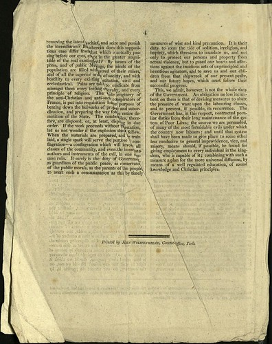 The Christian Observer on Peterloo, 1819 p.4 | by archivesplus