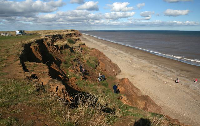 Aldbrough beach access