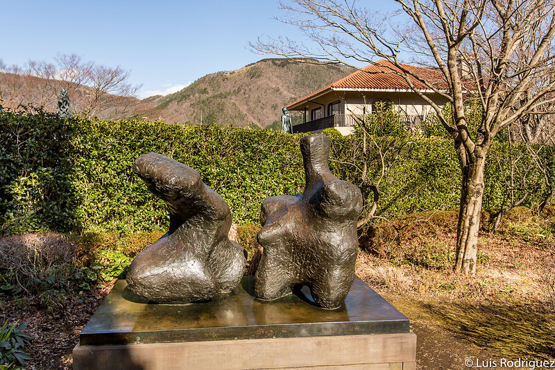 """Large Spindle Piece"" de Henry Moore"