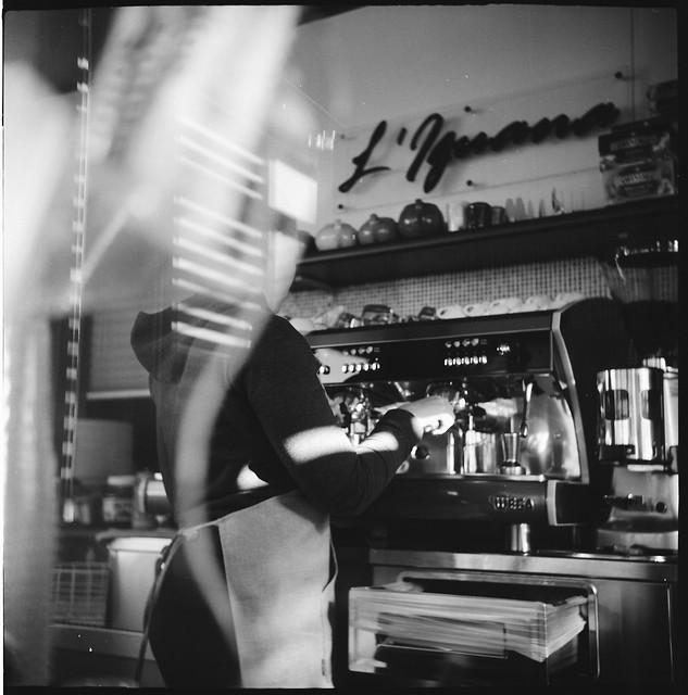 Cafe' scene