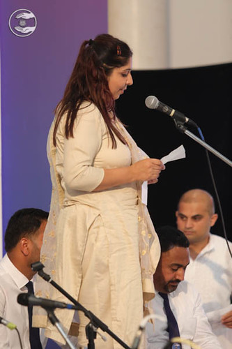 Devotee expresses her views in the form of Poem