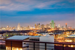 Downtown Dallas from roof top terrace of 1905 Malone Cliff View, 03-22-19 | by skys the limit2
