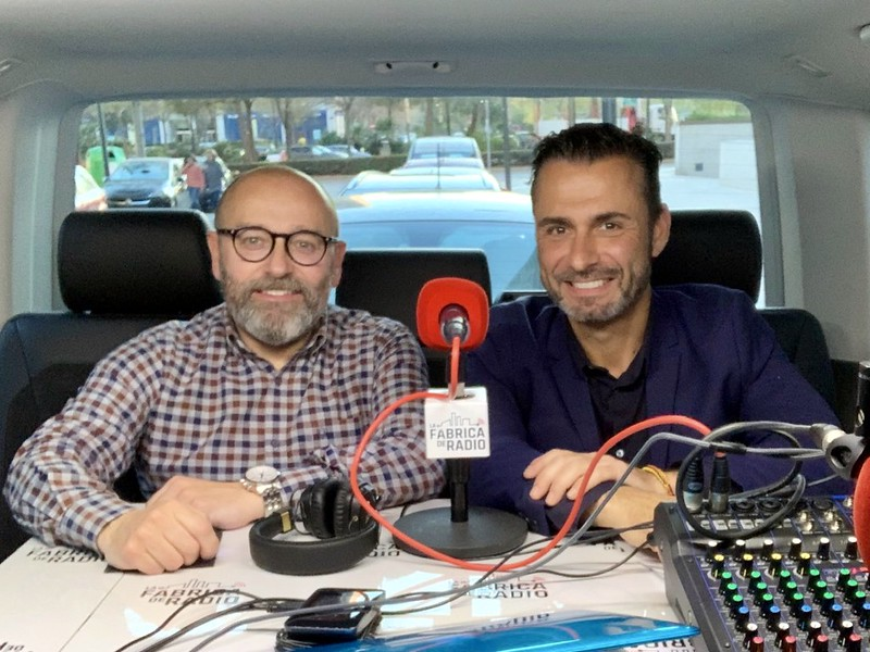 Musicoctel La Fabrica de Radio Rafa Serra Paco Cremades