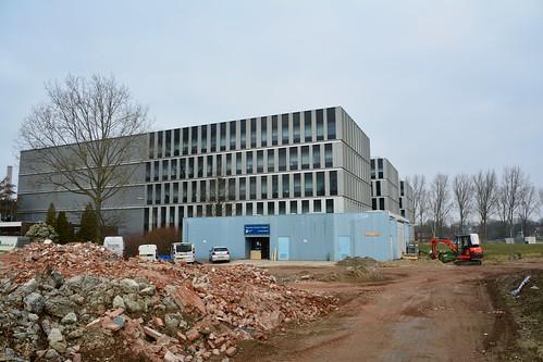 New Gorlæus building