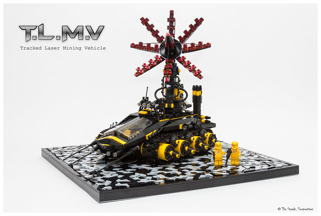 Tracked Laser Mining Vehicle MOC - 3