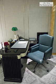 Executive office desk area in my room | by thewanderingeater