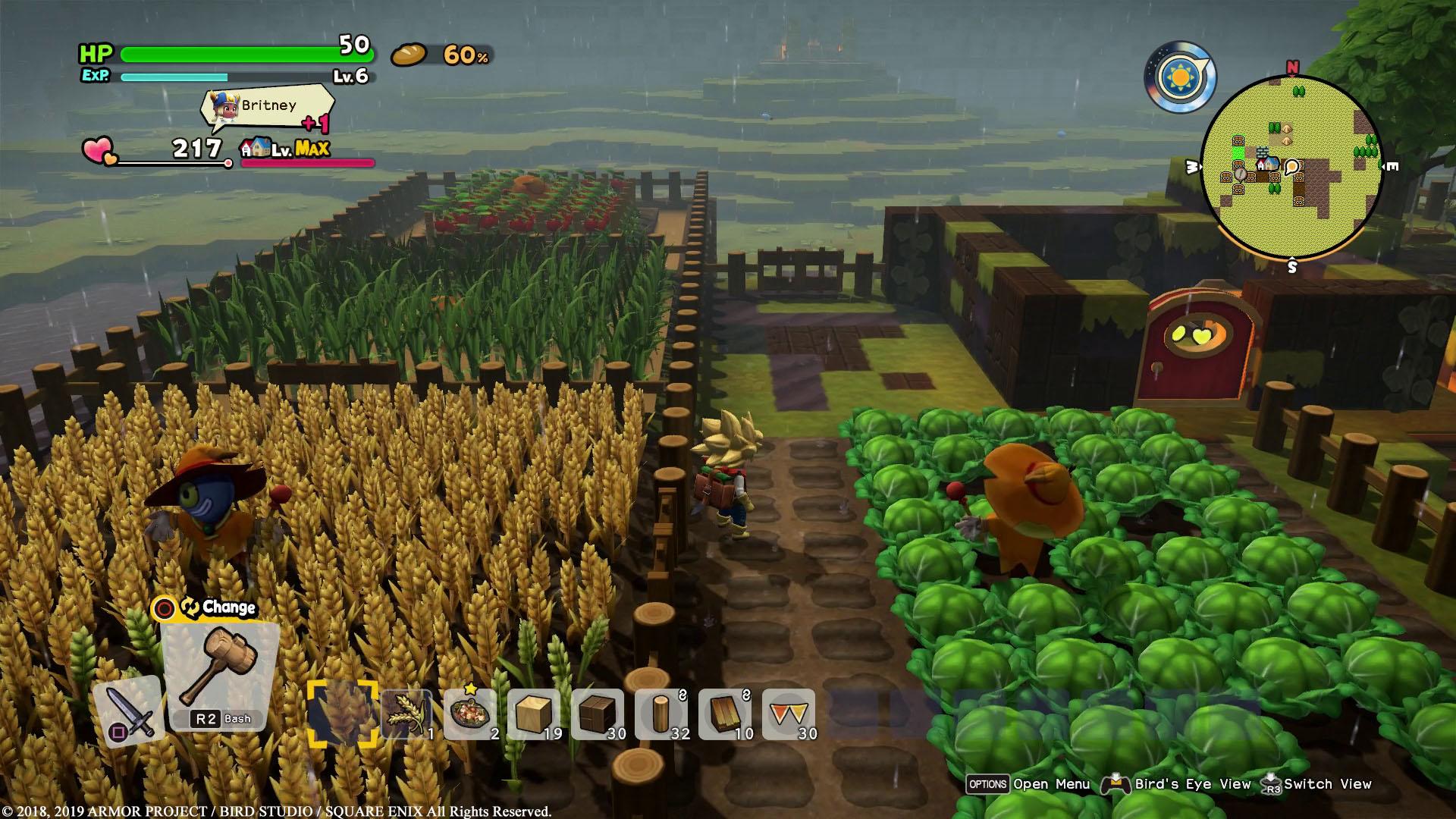 Dragon Quest Builders 2 Farm
