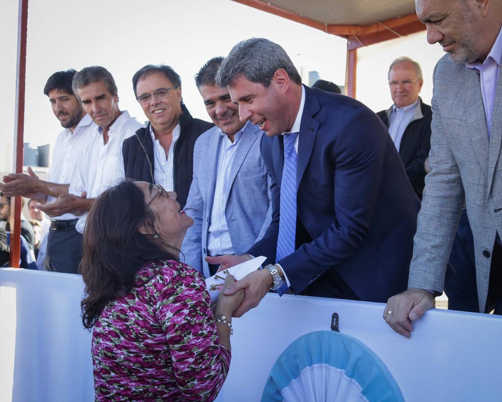 2019-03-13 PRENSA: Entrega de Viviendas en el Departamento Rivadavia
