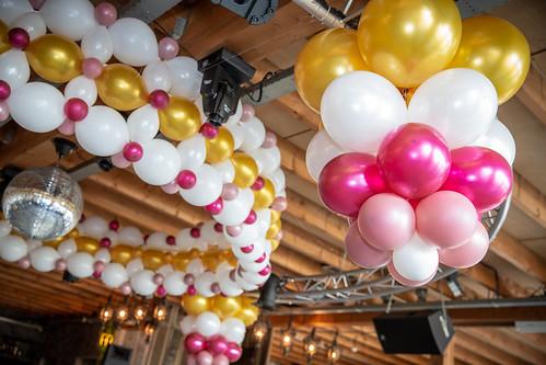 Plafond ballon decoratie   by BallondecoNL