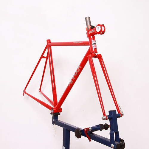 KINFOLK Steel Frame & Fork Painted By Swamp Things.   by starfuckers / Above Bike Store