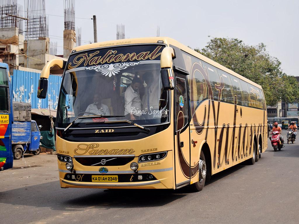 National Travels Volvo B11r 14 5m Coach Sanam Ka 01 Ah 2