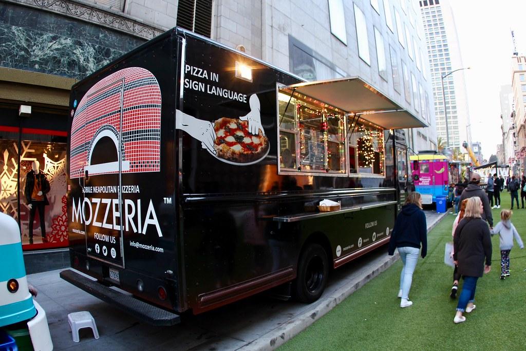 Mozzeria Food Truck | Union Square @ San Francisco, Californ