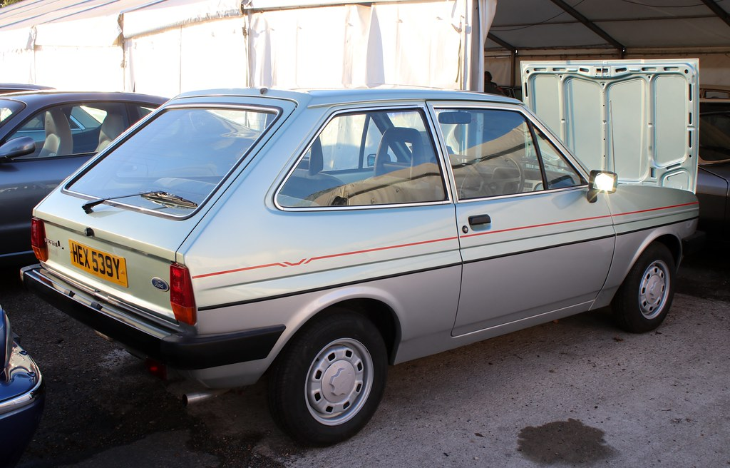 HEX 539Y (1) | 1982 Ford Fiesta L Bravo II. 1117cc. Anglia