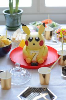 Pokemon birthday party with Pikachu cake | by jutta / kootut murut