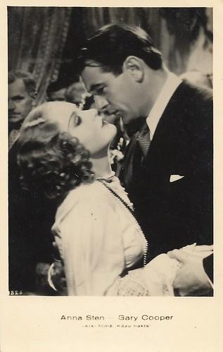 Anna Sten and Gary Cooper