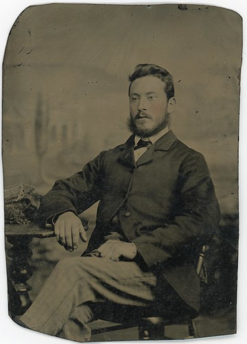 Unidentified Tintype Photograph | by UON Library,University of Newcastle, Australia